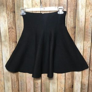 NWT LF High Waisted Circle Knit Mini Skirt